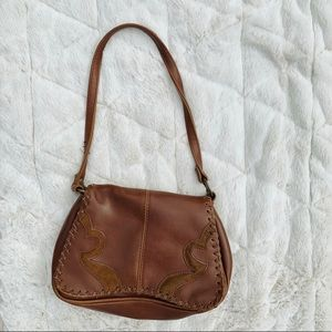 Old West Style Leather Purse
